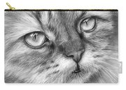 Beautiful Cat Carry-all Pouch by Olga Shvartsur