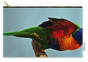 Beautiful Colorful Bird Carry-all Pouch