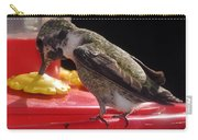 Beautiful Colored Hummingbird Carry-all Pouch