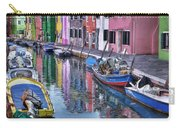 Beautiful Colors Of Burano Carry-all Pouch
