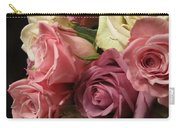 Beautiful Dramatic Roses Carry-all Pouch