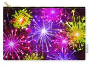 Beautiful Fireworks  6 Carry-all Pouch