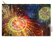Beautiful Fireworks 8 Carry-all Pouch