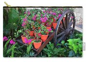 Beautiful Flower Wagon Carry-all Pouch