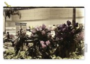 Beautiful Flowers Inside The Changi Airport In Singapore Carry-all Pouch