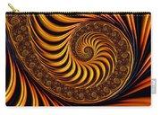 Beautiful Golden Fractal Spiral Artwork  Carry-all Pouch