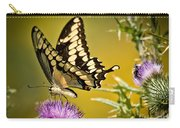Beautiful Golden Swallowtail Carry-all Pouch