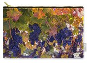 Beautiful Grape Harvest Carry-all Pouch