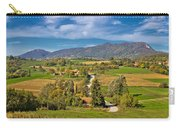 Beautiful Green Scenery Of Prigorje Region Carry-all Pouch