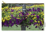 Beautiful Hanging Flowers Carry-all Pouch