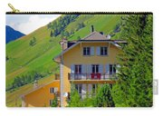 Beautiful House In Mont Blanc Carry-all Pouch