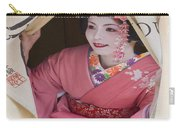 Beautiful Japanese Woman Carry-all Pouch