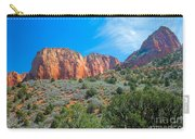 Beautiful Kolob Canyon Carry-all Pouch by Robert Bales