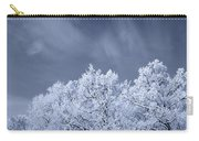 Beautiful Landscape With A Stormy Wind Carry-all Pouch