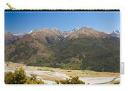 Beautiful Makarora Valley On South Island Of Nz Carry-all Pouch