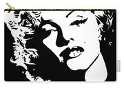 Beautiful Marilyn Monroe Original Acrylic Painting Carry-all Pouch