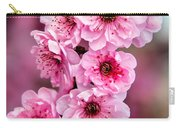 Beautiful Pink Blossoms Carry-all Pouch by Robert Bales