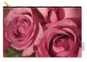 Beautiful Pink Roses 6 Carry-all Pouch