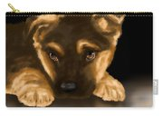 Beautiful Puppy Carry-all Pouch by Veronica Minozzi