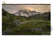 Beautiful Rainier Wildflower Meadows Carry-all Pouch