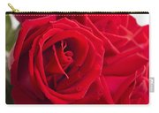 Beautiful Red Rose Close Up Shoot Carry-all Pouch