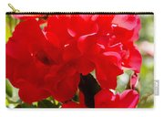 Beautiful Red Roses Carry-all Pouch