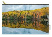 Beautiful Reflections Of A Autumn Forest In A Lake Carry-all Pouch