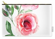Beautiful Roses Flowers Carry-all Pouch