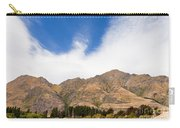 Beautiful Roys Peak Near Wanaka In Southern Alps Of New Zealand Carry-all Pouch