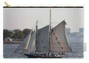 Beautiful Sailboat In Manhattan Harbor Carry-all Pouch