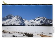 Beautiful Sawtooth Mountains Carry-all Pouch