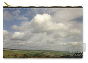 White Clouds Over Yorkshire Dales Carry-all Pouch