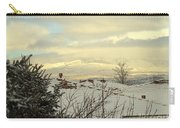 Beautiful Sparkling Snow Carry-all Pouch