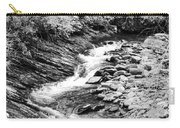 Beautiful Stream Smoky Mountains Bw Carry-all Pouch