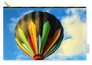 Beautiful Stripped Hot Air Balloon Carry-all Pouch