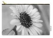 Beautiful Sunflower In Monocrome Carry-all Pouch
