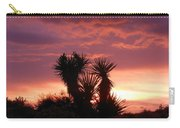 Beautiful Sunset In Arizona Carry-all Pouch