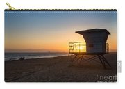 Beautiful Sunset In Point Mugu State Park In Malibu. Carry-all Pouch