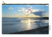 Beautiful Sunset Iowa River Carry-all Pouch