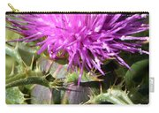 Beautiful Thistle Carry-all Pouch