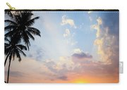 Beautiful Tropical Sunset Carry-all Pouch