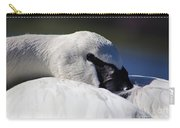 Beautiful Trumpeter Swan Carry-all Pouch