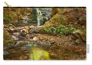 Beautiful View Of Upper Falls Located In Uvas Canyon County Park. Carry-all Pouch