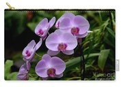 Beautiful Violet Purple Orchid Flowers Carry-all Pouch