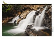 Beautiful Waterfall In Western Ghats Karnataka India Carry-all Pouch