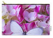 Beautiful White Butterfly Carry-all Pouch