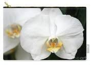Beautiful White Phanaenopsis Orchids Carry-all Pouch