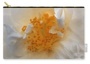 Beautiful White Rose Carry-all Pouch