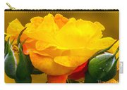 Beautiful Yellow Rose Carry-all Pouch