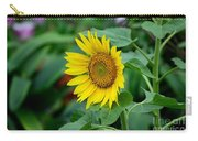 Beautiful Yellow Sunflower In Full Bloom Carry-all Pouch